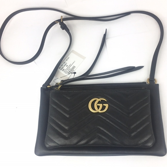 5cace9244f24 Gucci Marmont Matelasse Shoulder Bag